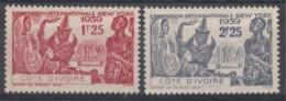 N° 144 Et N° 145 - X X - ( C 64 ) - Ivory Coast (1892-1944)