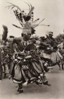 Carte Postale Congo Mweka Notable Bakuba Dansant - Congo - Kinshasa (ex Zaire)