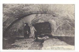 23598 - Vallorbe Tunnel Du Mont D'Or Tête Nord Voûte Maçonnée Et Front D'attaque - VD Waadt