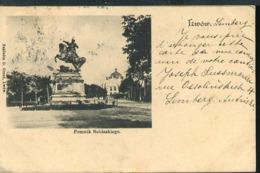 RB77 LWOW - POMNIK SOBIESKIEGO ( RETRO INDIVISO 1902 ) - Ucrania
