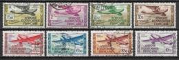 French Equatorial Africa 1937 Mi. Nr.67-74 - Usados