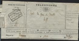 Telegramme Obl. Chemins De Fer TILFF 2 Le 31/5/44 - Telegraph