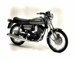 Morini 250 +-24cm X 18cm  Moto MOTOCROSS MOTORCYCLE Douglas J Jackson Archive Of Motorcycles - Photographs