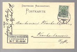 FRANKENHAUSEB (Kyfferhäuser) 1890 Knauth Nachod & Kühne Privatbach (31) - Deutschland
