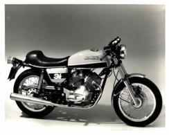 Morini 3 1/2 +-24cm X 18cm  Moto MOTOCROSS MOTORCYCLE Douglas J Jackson Archive Of Motorcycles - Photographs