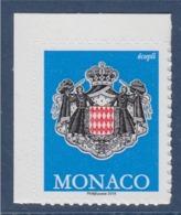 = Monaco Issu Du Carnet Blason, Philaposte 2019 Autocollant TVP Pour écopli, Neuf - Neufs