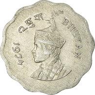 Monnaie, Bhoutan, 10 Chetrums, 1974, TB+, Aluminium, KM:38 - Bhutan