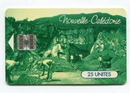 Telecarte °_ N-Calédonie-47-Mines Trazy-25 U-02.97- R/V 8353 - Nouvelle-Calédonie