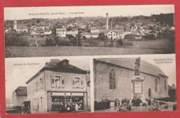 CPA: Waldighofen (68) Vue Générale - Epicerie Bachmann - Monument Aux Morts - Other Municipalities