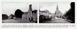 1909 - Iconographie Documentaire - Yvetot (Seine-Maritime) - Vues - FRANCO DE PORT - Vieux Papiers