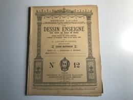 Methode Lacabe - Le DESSIN ENSEIGNÉ N°12 - A. Lacabe & Plasteig - Livres, BD, Revues
