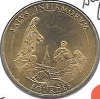Jeton Touristique 65 Lourdes Salus Infirmorum 2005 Sd - Monnaie De Paris