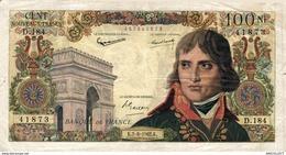 9736 -2019      BILLET 100NF BONAPARTE DU 7-6-1962 - 1959-1966 ''Nouveaux Francs''