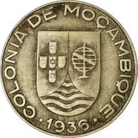 Monnaie, Mozambique, Escudo, 1936, TTB, Copper-nickel, KM:66 - Mozambique