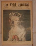 Le Petit Journal. 15 Octobre 1892. La Princesse De Lamballe. Un épisode Du Siège De Lille. Octobre 1792. - Boeken, Tijdschriften, Stripverhalen