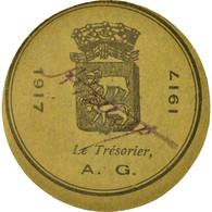 Monnaie, France, Lectoure, 25 Centimes, 1917, SUP, Carton - Noodgeld