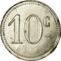 Monnaie, France, Grand Café PONTIE, Albi, 10 Centimes, TTB+, Zinc Nickelé - Noodgeld