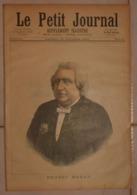 Le Petit Journal. 22 Octobre 1892. Ernest Renan. La Rentrée Des Classes Autrefois Et Aujourd'hui. - Boeken, Tijdschriften, Stripverhalen