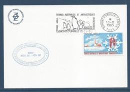 TAAF - Terre Australes Et Antarctiques Français - YT N° 103 - Dumont D'Urville - Terre Adeline - 1985 - Brieven En Documenten
