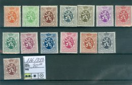 275-288A X COB 18€ - Belgium