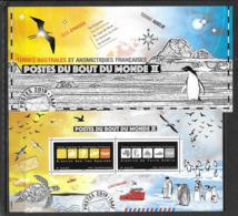 TAAF 2019 Bloc Neuf, Postes Du Bout Du Monde Avec Présentoir Sous Blister - Hojas Bloque