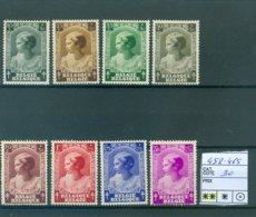 458-465 Xx COB 30.00€ - Belgium