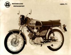 Motobecane 125L T1 +-24cm X 18cm  Moto MOTOCROSS MOTORCYCLE Douglas J Jackson Archive Of Motorcycles - Fotos