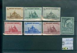 471-477 Xx COB 47.50€ - Belgium