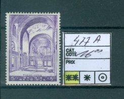 477A Xx COB 16.00€ - Belgium