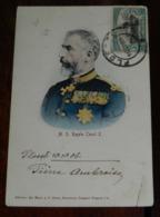 Royalty - M. S. Regele Carol I - Roumanie Romania Roman, CIRCULEE - Rumania