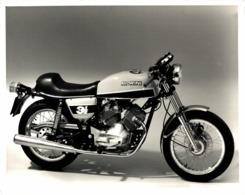 Morini 3 1/2 +-24cm X 18cm  Moto MOTOCROSS MOTORCYCLE Douglas J Jackson Archive Of Motorcycles - Fotos