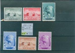 532-537 Xx COB 60.00€ - Belgium