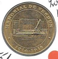 Jeton Touristique 55 Verdun Mémorial 2005 - Monnaie De Paris