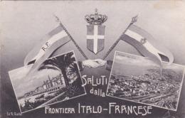 FRONTIERA ITALO FRANCESE VG  AUTENTICA 100% - Imperia