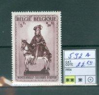 592A Xx COB 22.50€ - Belgium