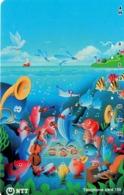 JAPON. Cartoon Fish. JP-231-239 D. (131) - Peces