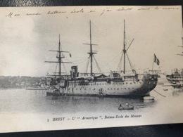 Brest. L' Armorique. Bateau école Des Mousses - Brest