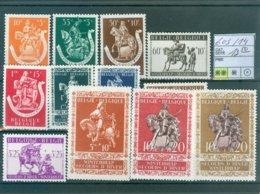 603-614 Xx COB 12.50€ - Belgium
