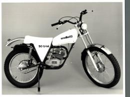 Ancillotti 50 Trial +-24cm X 18cm  Moto MOTOCROSS MOTORCYCLE Douglas J Jackson Archive Of Motorcycles - Photographs