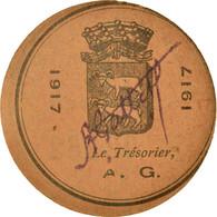 Monnaie, France, Lectoure, 10 Centimes, 1917, SUP, Carton - Noodgeld