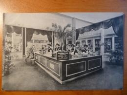 """CPA - Louis Delhaize """"Le Lion"""" Exposition Universelle Bruxelles 1910 - Stand Au Groupe X - Non Circulée - Rare - Publicité"""