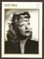 PORTRAIT DE STAR 1940 FRANCE - ACTRICE SUZY PRIM - ACTRESS CINEMA FILM PHOTO - Fotos