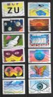 2015 - 144 - 11178 à 1189 - La Vue - Oblitéré - Adhésifs (autocollants)
