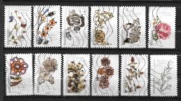 2017 - 180 - 1410 à 1421 - Fleurs Et Métiers D'Art - Oblitéré - Adhésifs (autocollants)