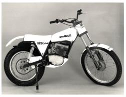 Ancillotti CT 125 Trial Competizione +-24cm X 18cm  Moto MOTOCROSS MOTORCYCLE Douglas J Jackson Archive Of Motorcycles - Photographs