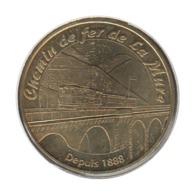38010 - MEDAILLE TOURISTIQUE MONNAIE DE PARIS 38 - Chemin De Fer De La Mure - 2006 - Monnaie De Paris