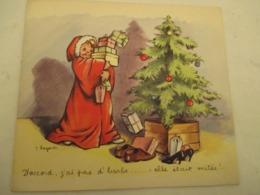 Pere Noel - Disque - 33 Tours - Vinyle -  Coin De Rue  - Par Clar Lil Pochette  De G.Lagarde - Collector's Editions