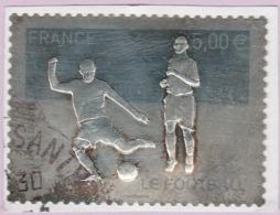 N° Yvert & Tellier 430 - Timbre De France (Année 2010) - U (Oblitéré) - Le Football (Autoadhésif) - Adhésifs (autocollants)
