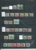 MALAISIE : Colonie Anglaise.Lot Sur 2 Pages. - Colecciones (en álbumes)