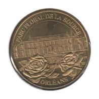 45002 - MEDAILLE TOURISTIQUE MONNAIE DE PARIS 45 - Parc Floral De La Source 2003 - Monnaie De Paris